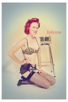 Robynne Pinup II by DerekEmmons