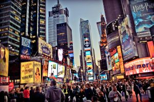 Times Square, New York by PeterKruczek