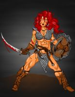 Red Sonja 2011 by Xanditz