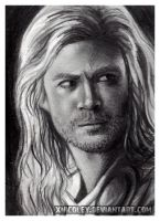 Thor Sketchcard by xnicoley
