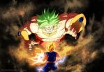 Dragonball Multiverse - Bejito VS Broly by hoCbo