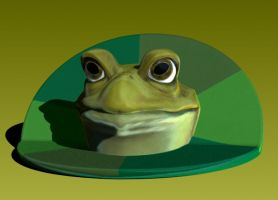Bachelor Frog Available at Shapeways ! by Vidal-Design
