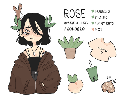 Rose Ref by kael-pinekid