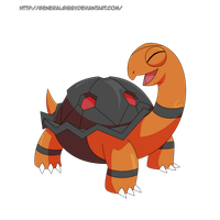 My Favorite Fire Type 2014- Torkoal by GeneralGibby