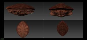 Crab Body Highpoly sculpt and paint by unknownguyver81