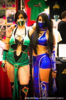 Jade and Kitana by Ariel Obtinalla by Sab-Zilla