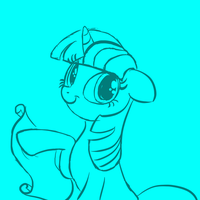 I'm terrible with titles - sketch by DeathPwny