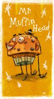 Mr.Muffin Head by jesseaclin
