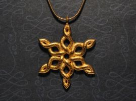 Snowflake Pendant by dfoley75