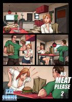 No Meat Please 2 Preview 2 by zzzcomics