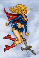 Supergirl WWC Colored by likwidlead