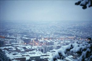 Tbilisi In Snow by LemonLemonLemon