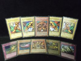 Exodia, how i loved thee when i was a kid by forever-at-peace