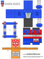 Paper Pezzy- Ultra Magnus by CyberDrone