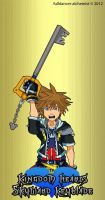 Kingdom Hearts Skyward Keyblade by fulldancer-alchemist