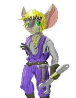 Steampunk Mouse Kid by RemnantWolf