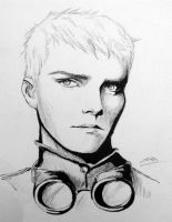 Gerard Way sketch by arrowchild