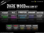 Dark Wood - Dock icon set by tRiBaLmArKiNgS