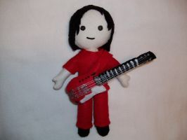 Jack White plushie by spastic-fantastic
