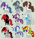 FREE Pony adopts CLOSED by ponyadopts101
