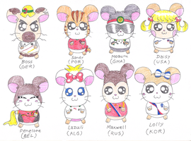 Hamtaro in World Cup 2014 IV by macaustar