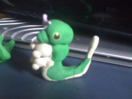 Caterpie Clay by UntouchedRayne