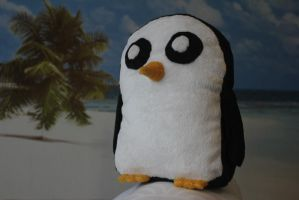 Adventure Time: Gunter Plushie by Miretz
