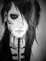 Black Painted Eyes, Cover the Lies by AllyRyde