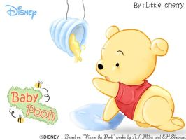 Baby pooh by littlecherry2810