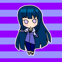 Chibi Hinata by Queen-of-Ice-Heart
