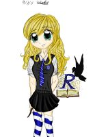 Me ravenclaw by RiddleMaker
