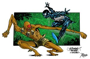 Dhalsim VS Spidey colors by SpiderGuile