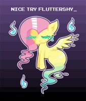 Nice Try Fluttershy by SteveHoltisCool