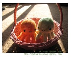 - Octopus Easter Basket - by awkwardsoul