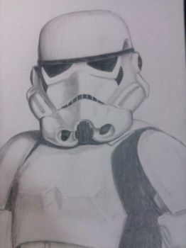 Stormtrooper by lmoyer92