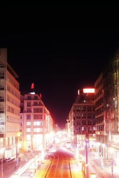 Friedrichstrasse IV - Pink by CircleOfConfusion