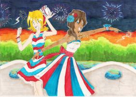 Happy 4th of July by Toadiko25