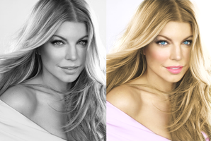 Fergie Colorize by silene7
