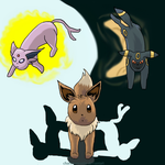 Prize-Eevee, which path. by charlot-sweetie