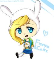 Fionna and Cake by Deiseki