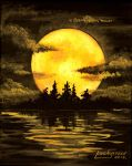 Harvest Moon by Artsy50