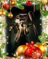 Christmas Wallpaper: The Evil Within by Rubysmooby