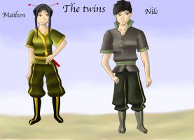 Avatar-the last airbender OC's by MistyWoods101