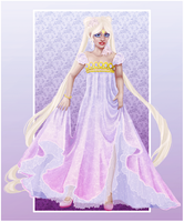 Princess Serenity by limonkaie