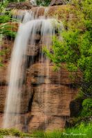 Waterfall by vincepontarelli
