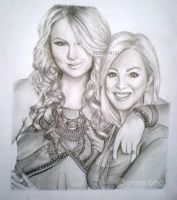 Taylor Swift  Kellie Pickler by artisticlyanne