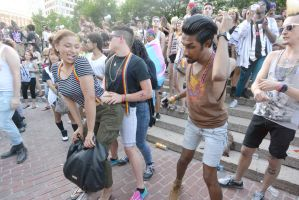 2015 Boston Pride Festival, the Bump and Grind 12 by Miss-Tbones