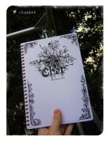 17's notebook by studded