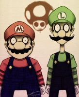 Super Burton Bros by MichaelthePure