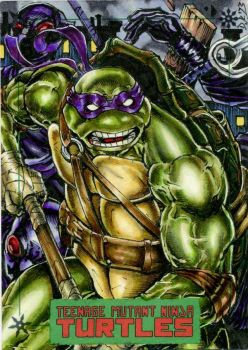 Donatello TMNT by IDW by DKuang